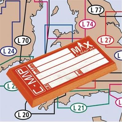 Cartes C-Map Max Local ouest-Europe