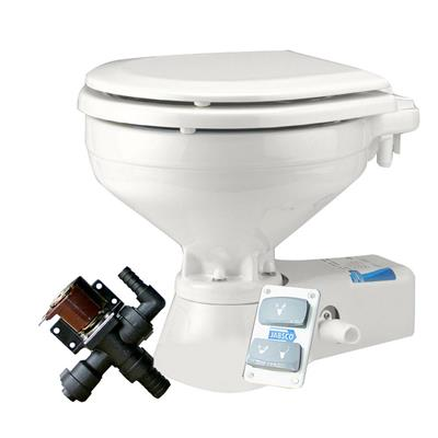 WC électrique JABSCO 37045 Quiet Flush, Fresh Water