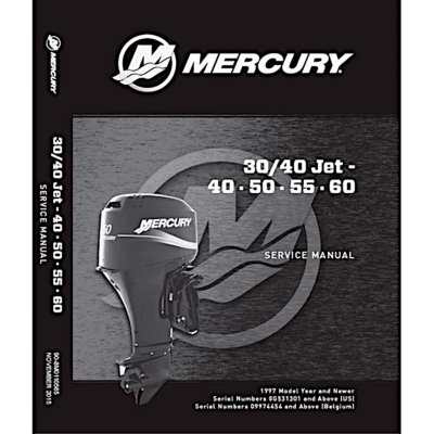 Manual de Service MERCURY MARINER 30-60Cv 2Temps (1997 et +)