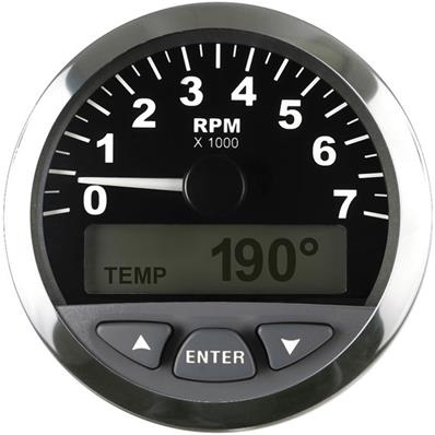 NMEA 2000® Tachometer with LCD 7000 RPM