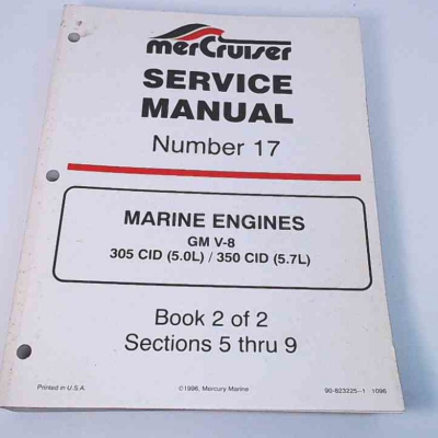 Service Manual MERCRUISER V8 GM (1993-1997)