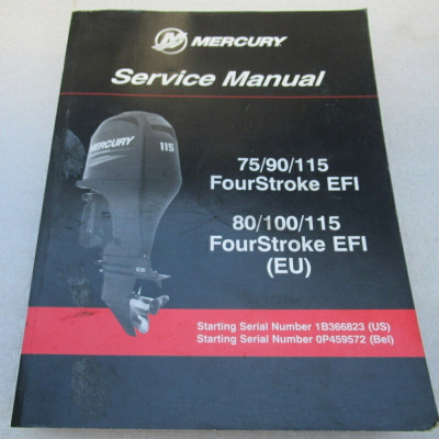 Service Manual MERCURY 75-115 EFI (2006-2014)
