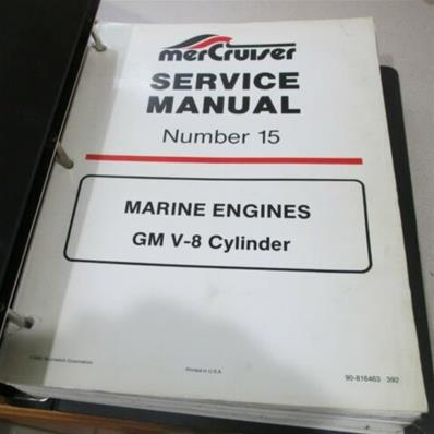 Service Manual MERCRUISER V8 GM (1989-1992)