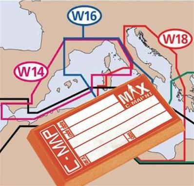 Cartes C-Map Max Couverture Wide Europe