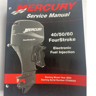 Service Manual MERCURY MARINER 40-60 Four Stroke EFI