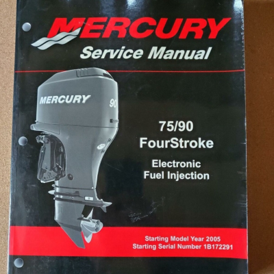 Service Manual MERCURY MARINER 75, 80, 90, 100 EFI (avant 2006 )